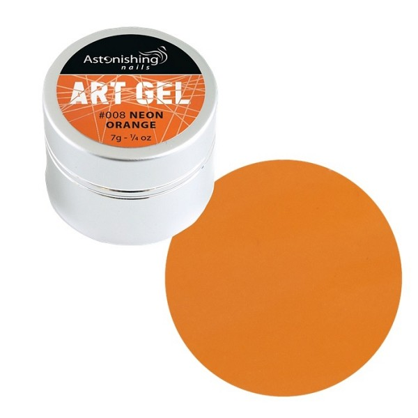 AN Art Gel Neon Orange
