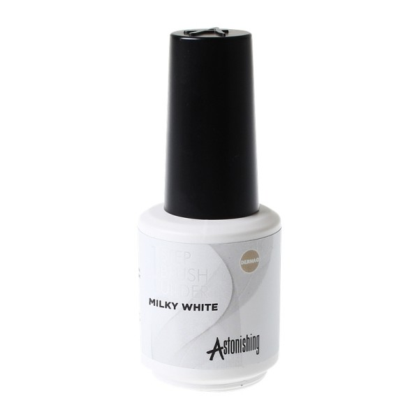 Astonishing 1 STEP Brush Builder gel - Milky White