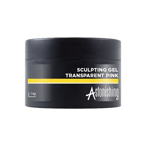 Astonishing Sculpting Gel Transparent Pink