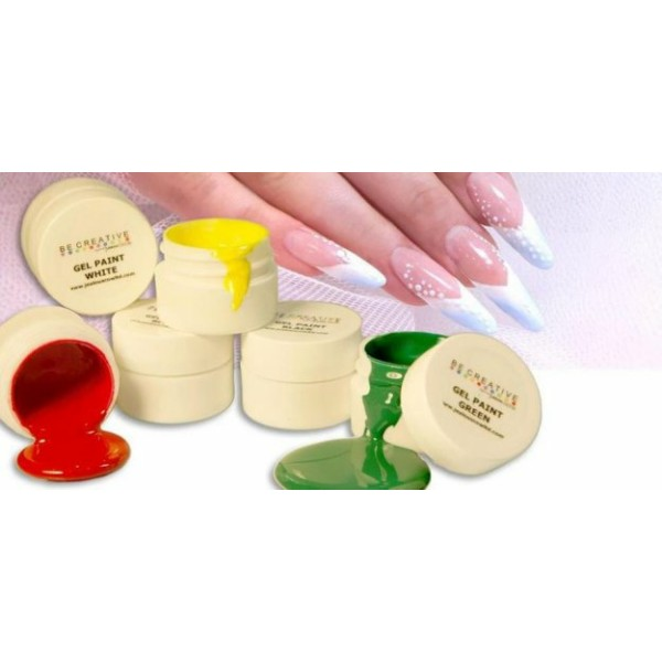 BeCreative 6pc Gel Paint kit