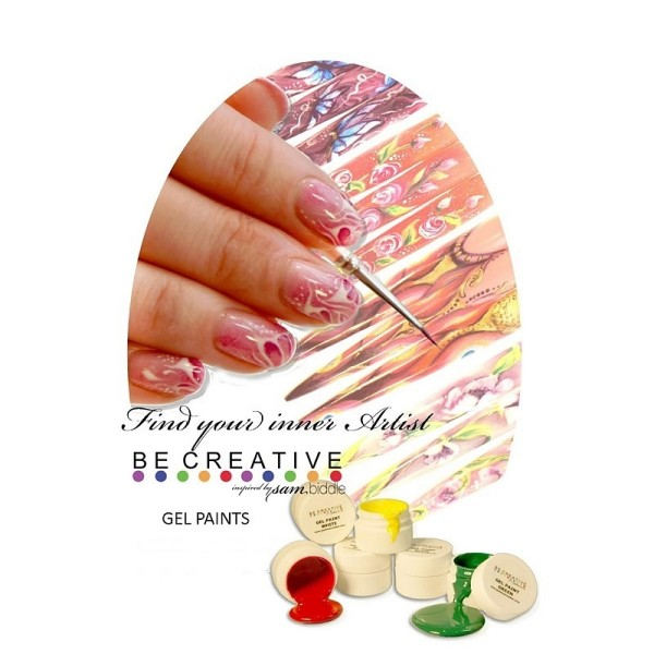 BeCreative DVD Find you inner artist - Gel Paint Nail Art Design
