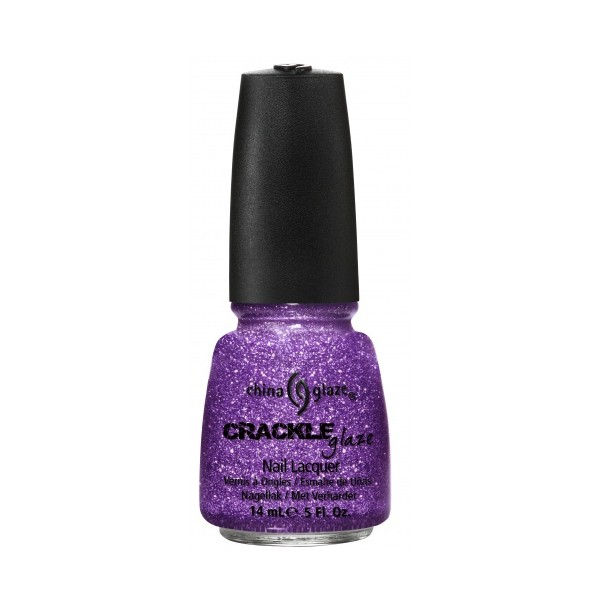 China Glaze CRACLE GLITTERS Luminous Lavender, 14 ml