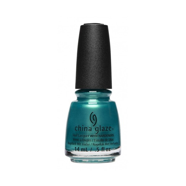 China Glaze Don't Teal My Vibe 1