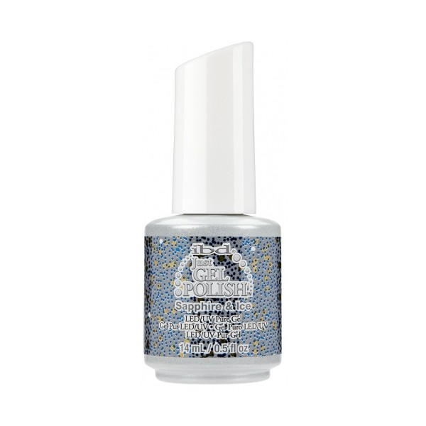 IBD Just Gel Polish št. 129, Sapphire & Ice, 14 ml 1