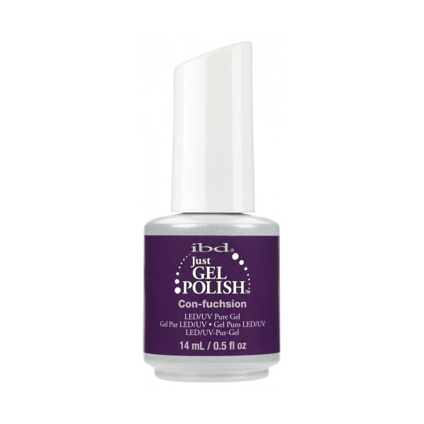 IBD Just Gel Polish št. 21, Con-fuchsion, 14 ml