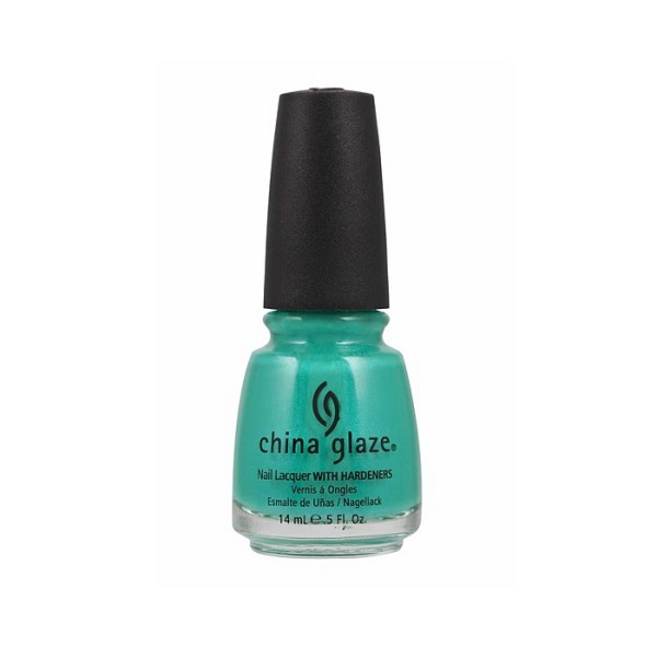 Lak za nohte China Glaze - Turned Up Turquoise1